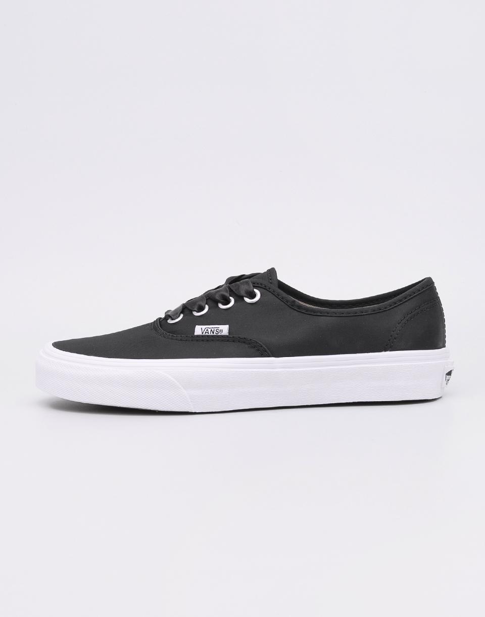 Vans Authentic (Satin Lux) Black/True White 39