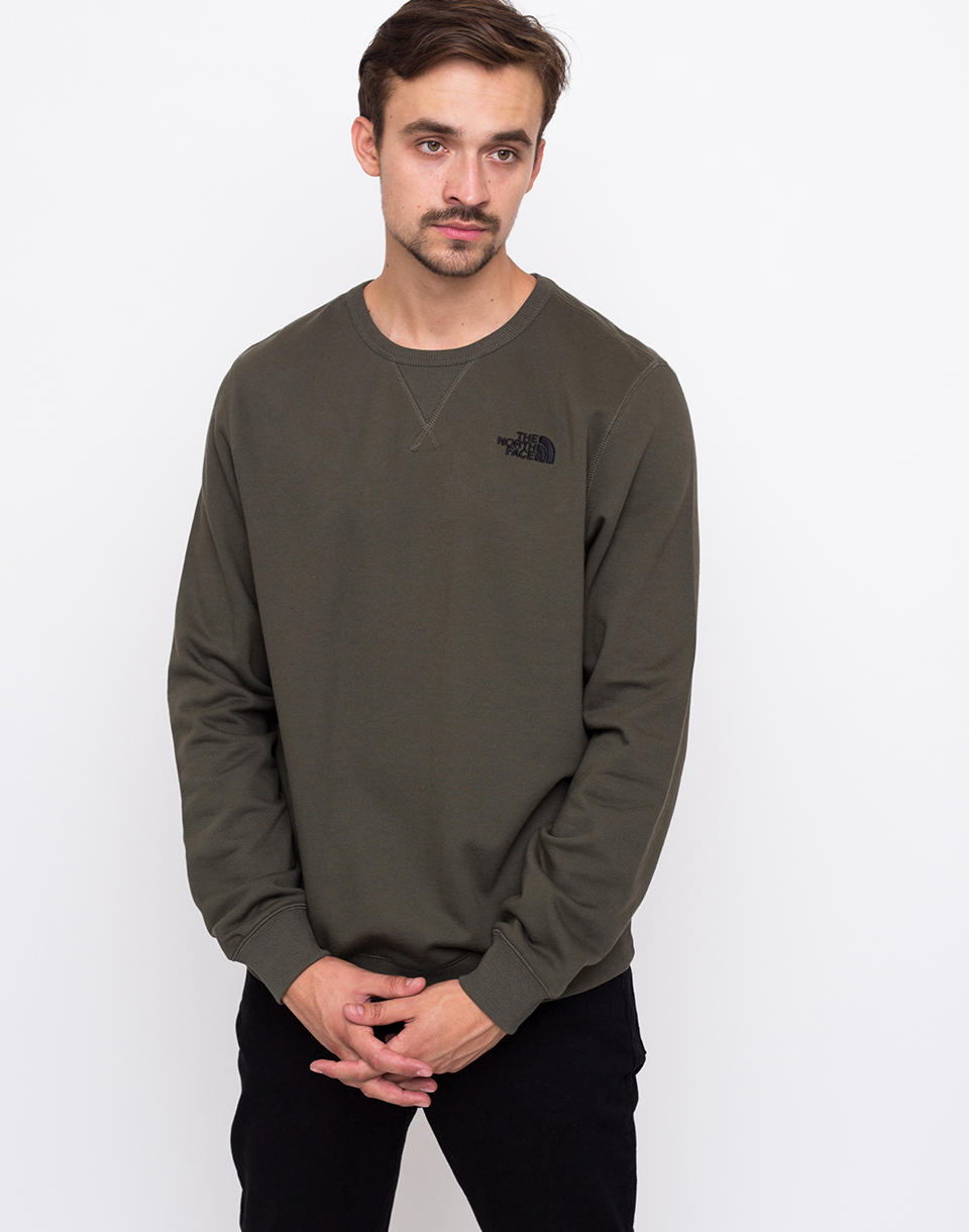The North Face Street Fleece Pull NEW TAUPE GREEN L