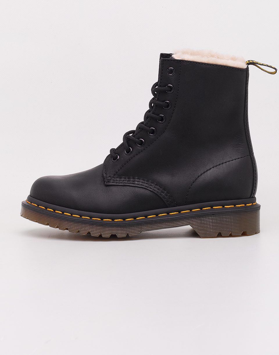 Dr  Martens 1460 Serena Black Burnished Wyoming 38