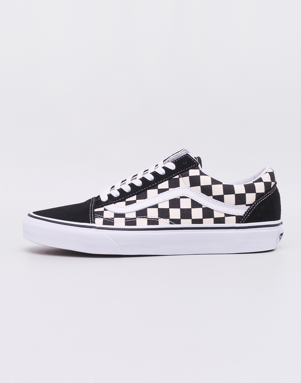 Vans Old Skool (Primary Check) Black  White 42