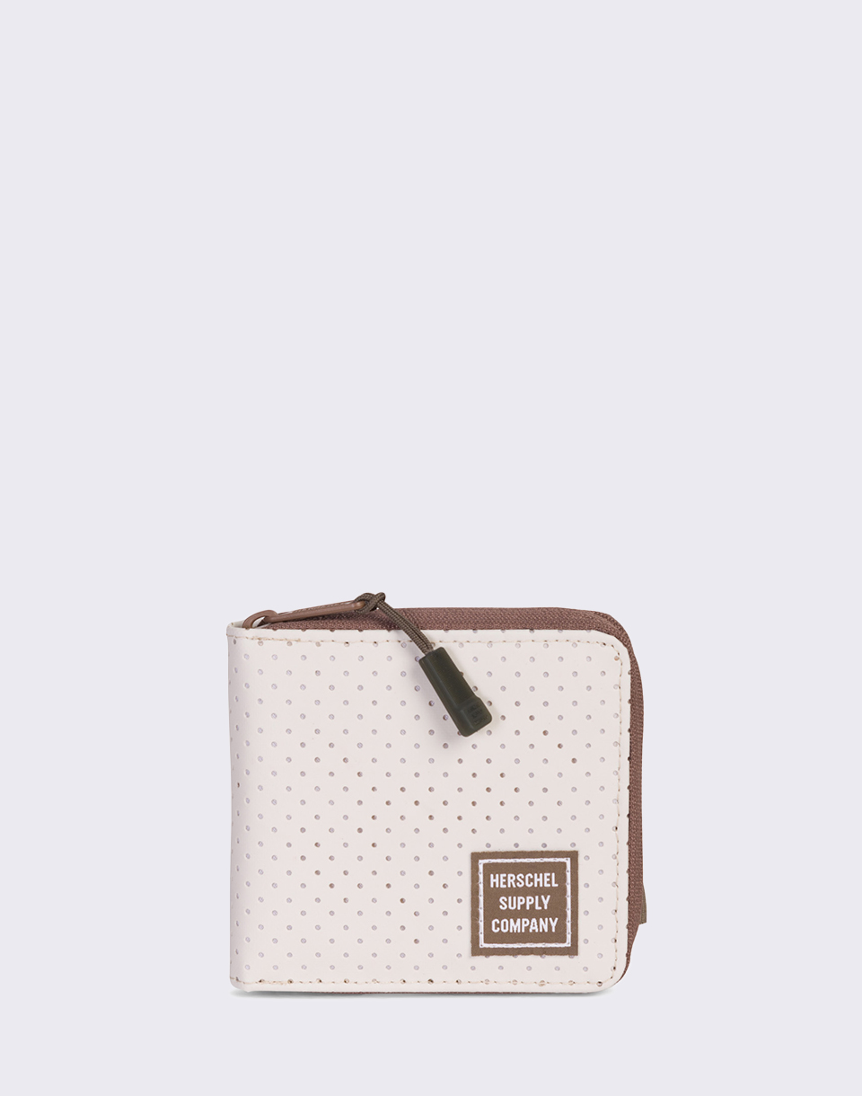 Herschel Supply Walt RFID Silver Birch Khaki Crosshatch