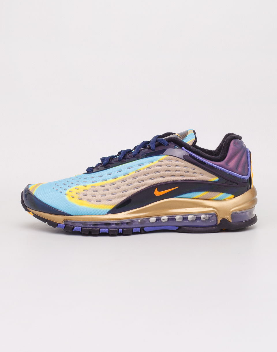 Nike Air Max Deluxe Midnight Navy   Laser Orange 42