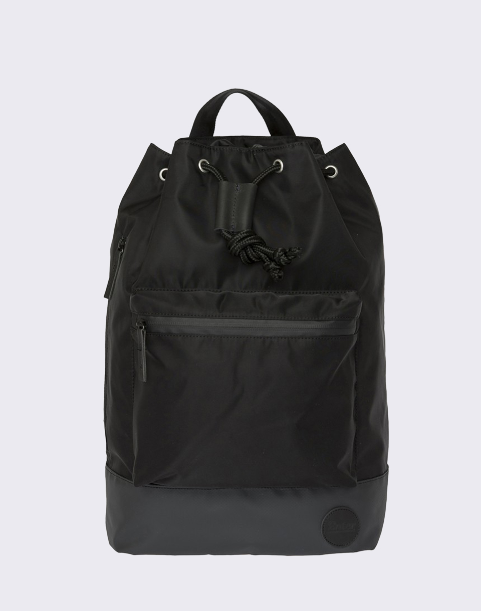 Enter Research Sailor Black Waterproof  Black Heavy Nylon  Black Leather