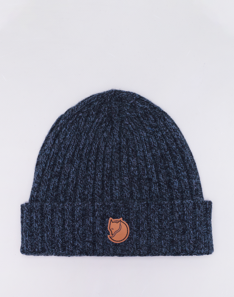 Fjällräven Re-Wool Hat 555 Dark Navy