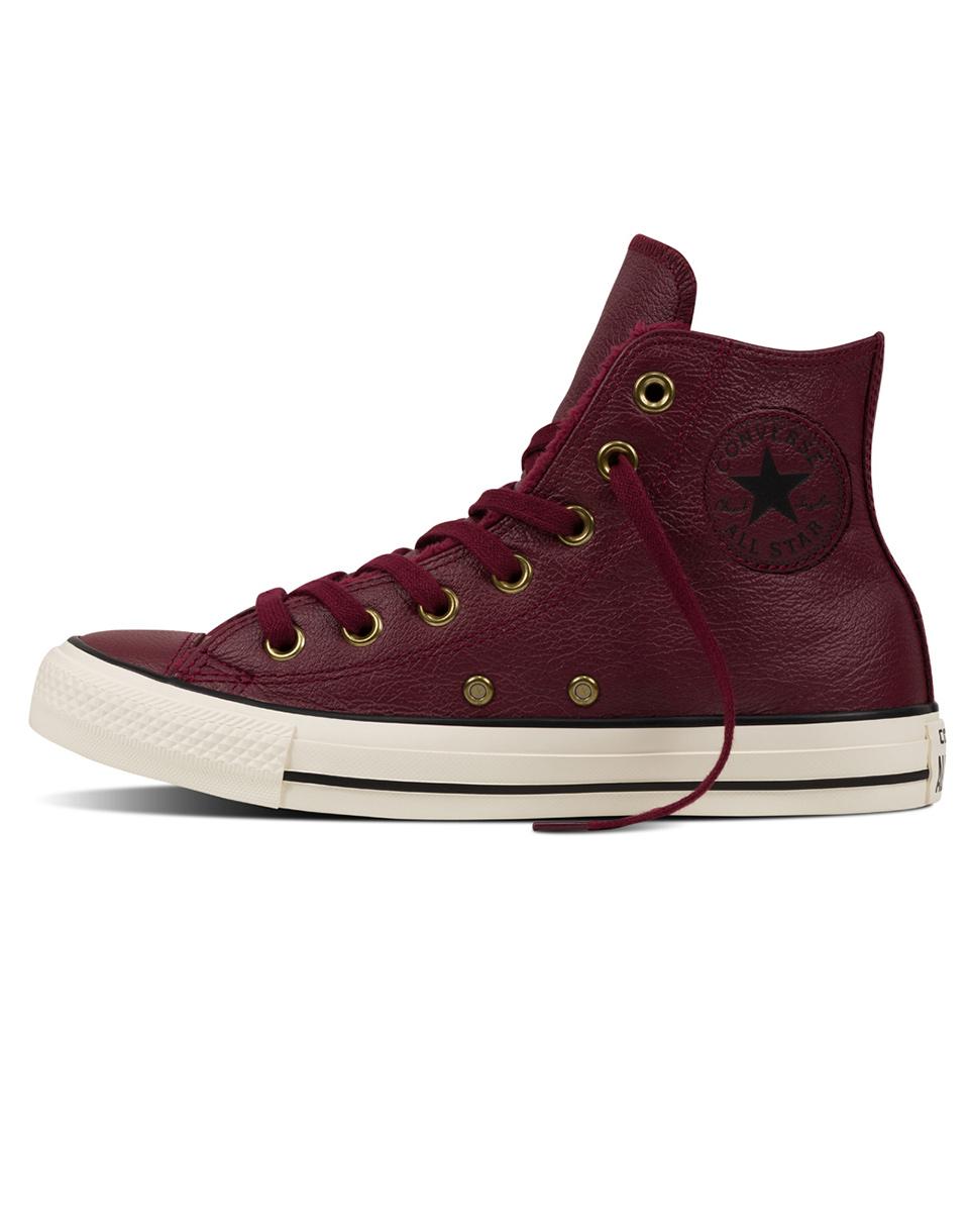 Sneakers - tenisky Converse Chuck Taylor All Star Deep Bordeaux / Black / Egret 37 + doprava zdarma