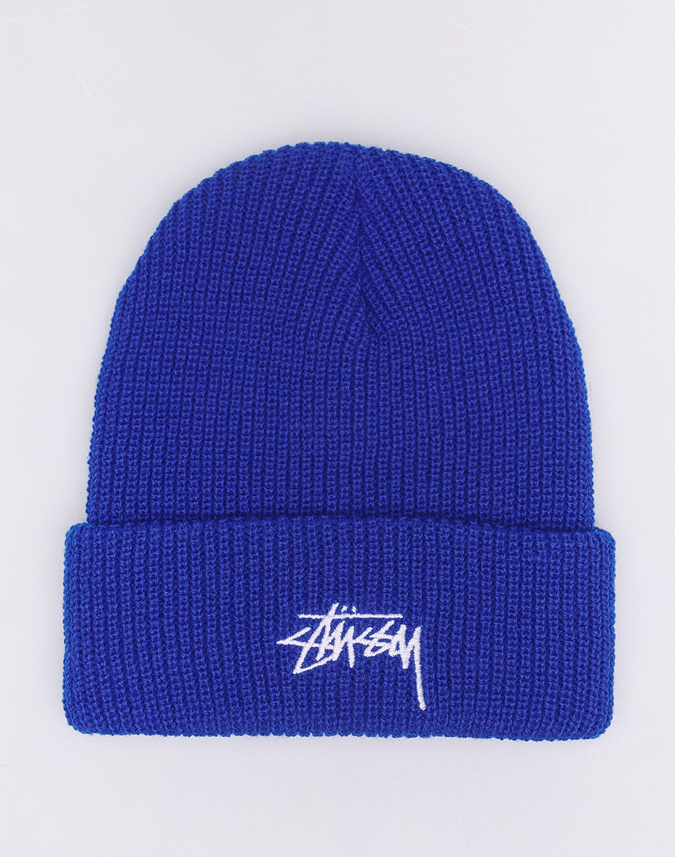 Stüssy Stock Cuff Beanie Royal