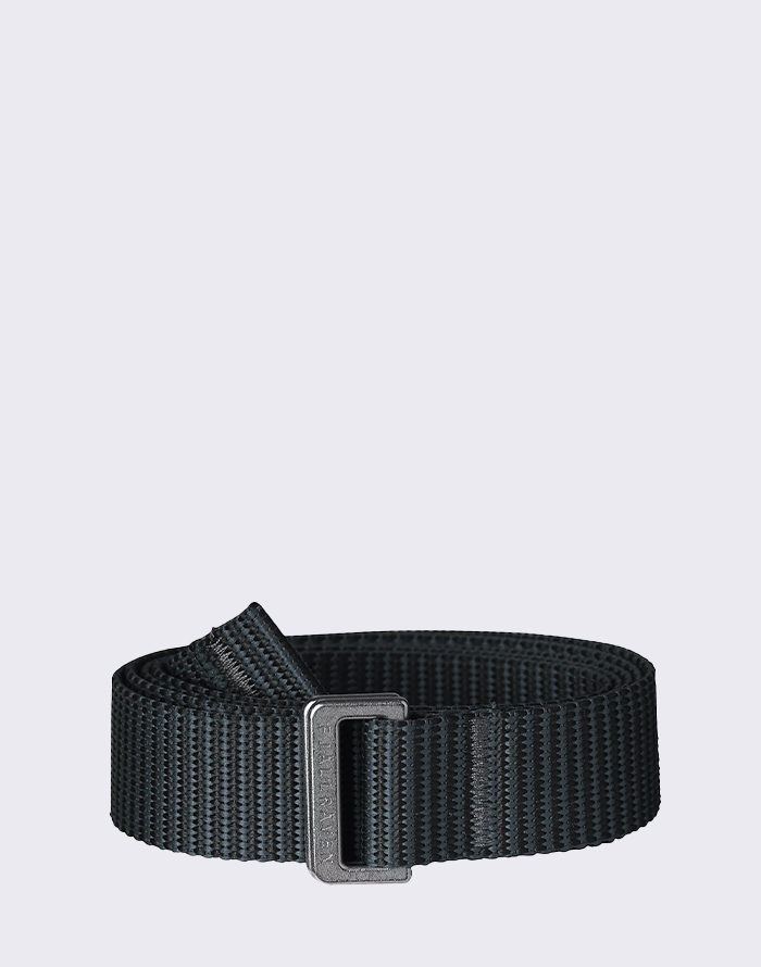 Fjällräven Striped Webbing Belt 550-042 Black-Dusk