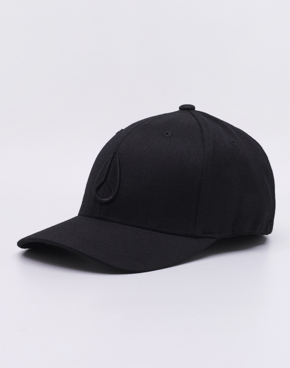 Nixon Deep Down FF Athletic Fit Allblack L/XL