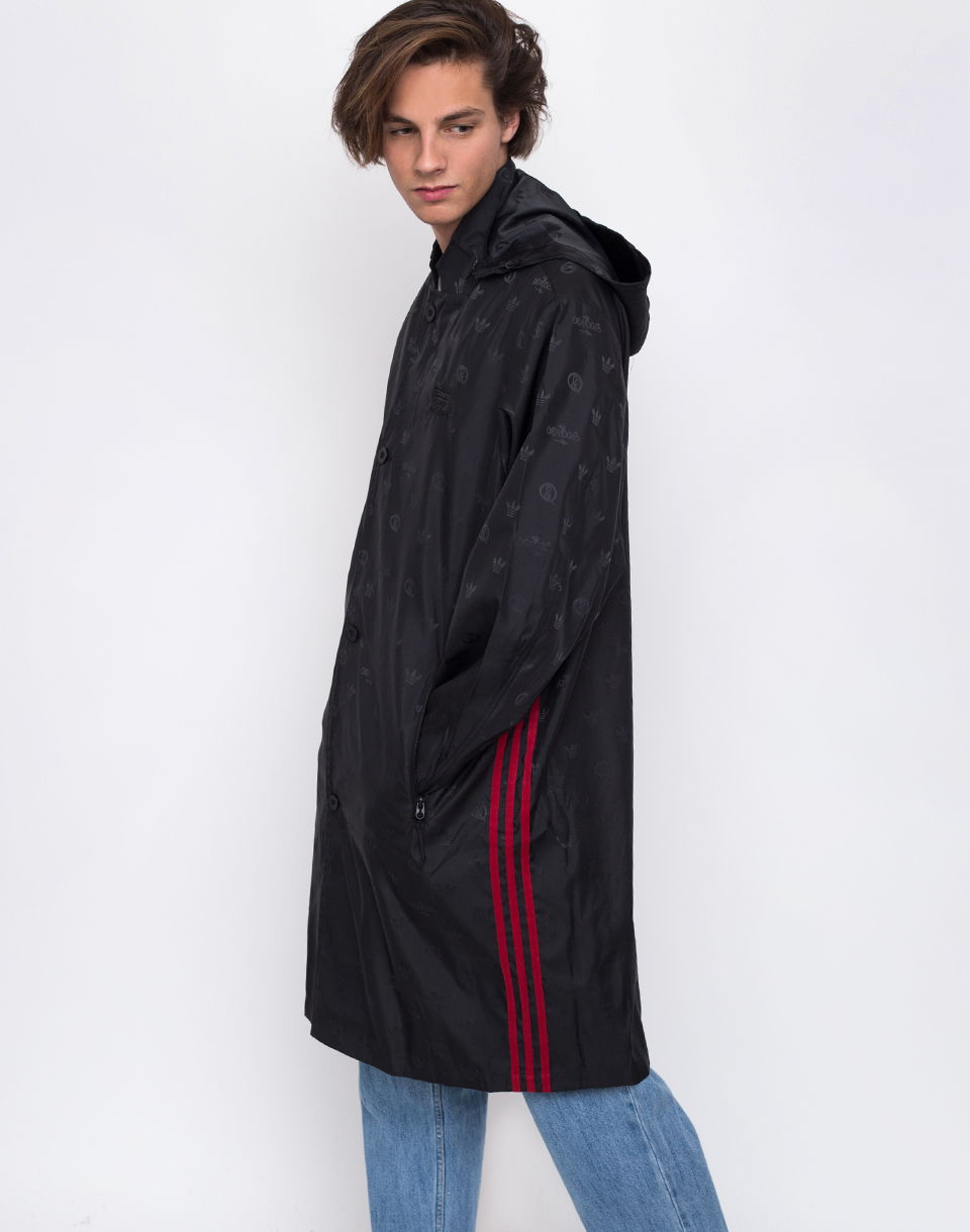 Adidas Originals UAS Long Coat Black M