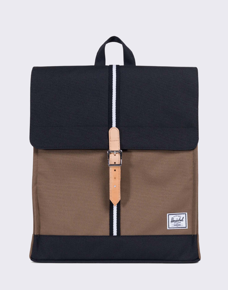Herschel Supply Offset City Cub Black White