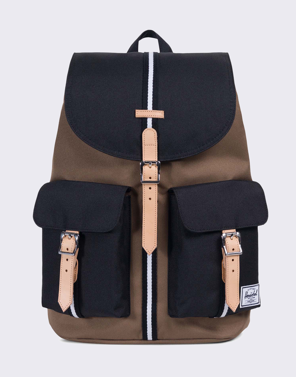Herschel Supply Offset Dawson Cub Black White