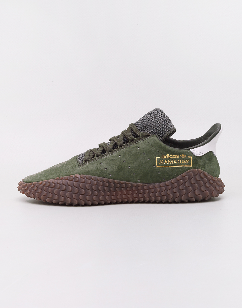 Adidas Originals Kamanda 01 Base Green  Base Green  Crystal White 46