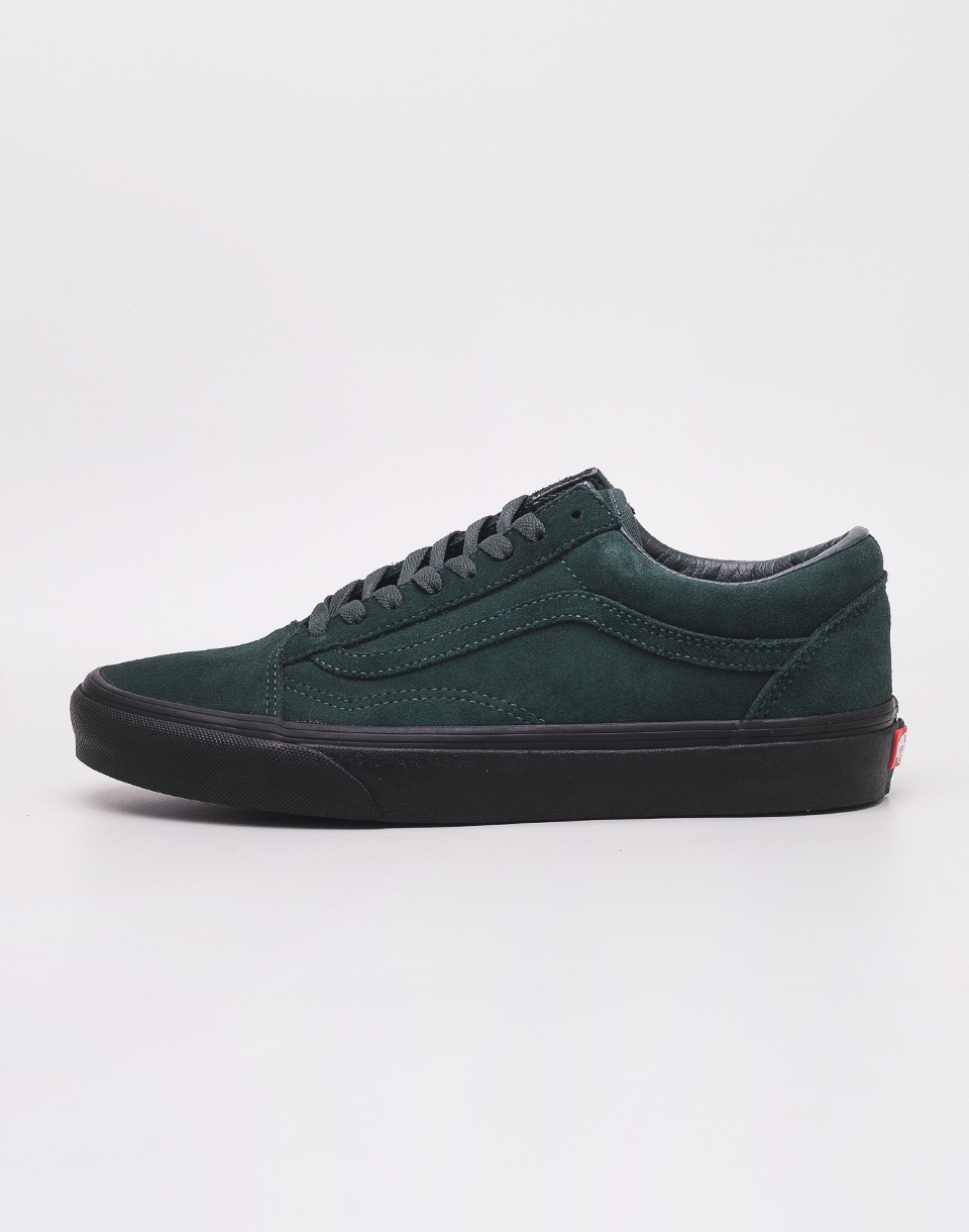 Vans Old Skool (Black Outsole) Darkest Spruce/ Black 42