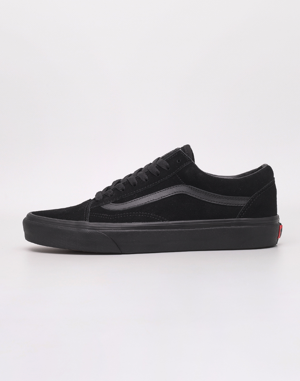 Vans Old Skool (Suede) Black/ Black/ Black 42