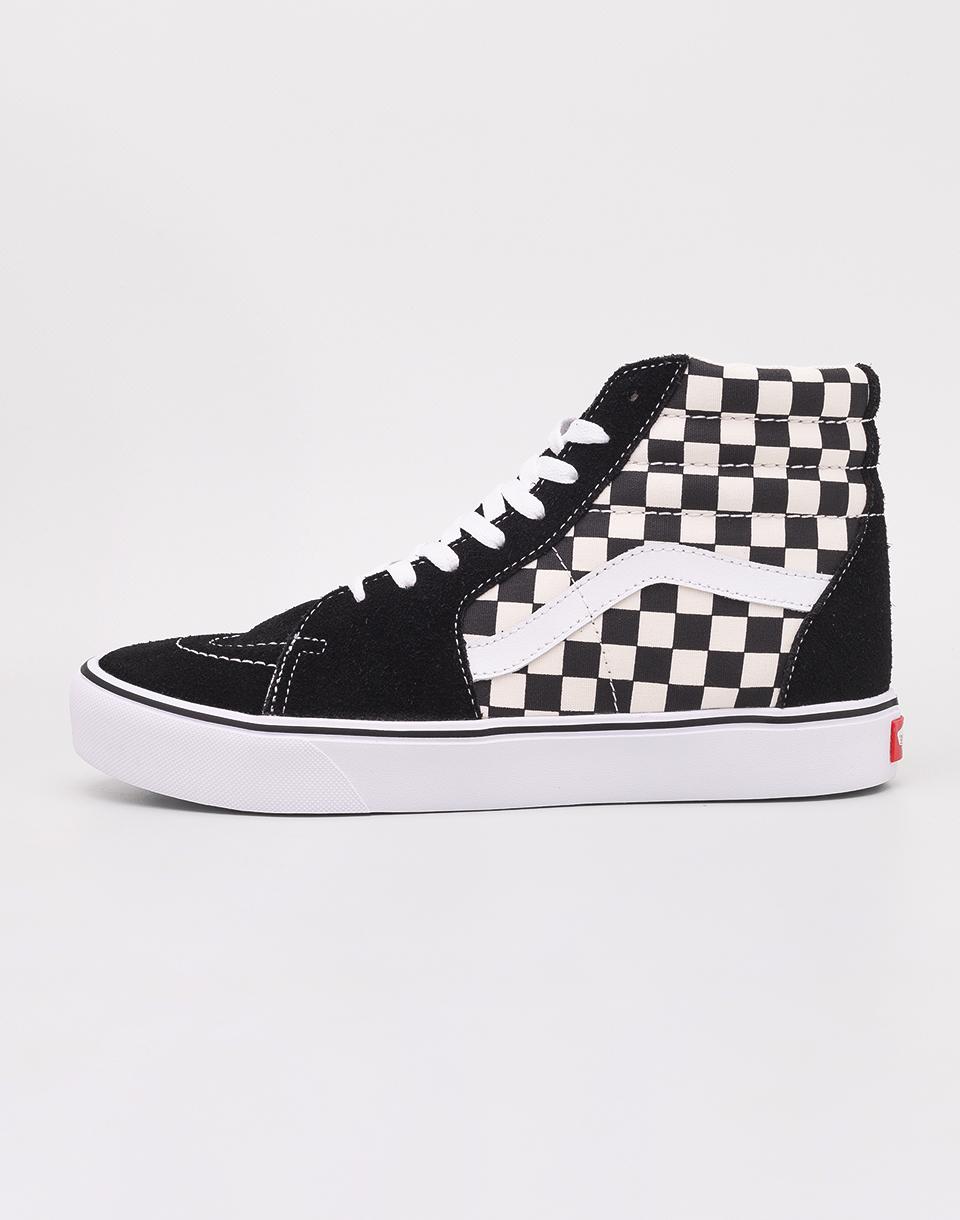 Vans SK8-Hi Lite (Checkerboard) Black/ White 46