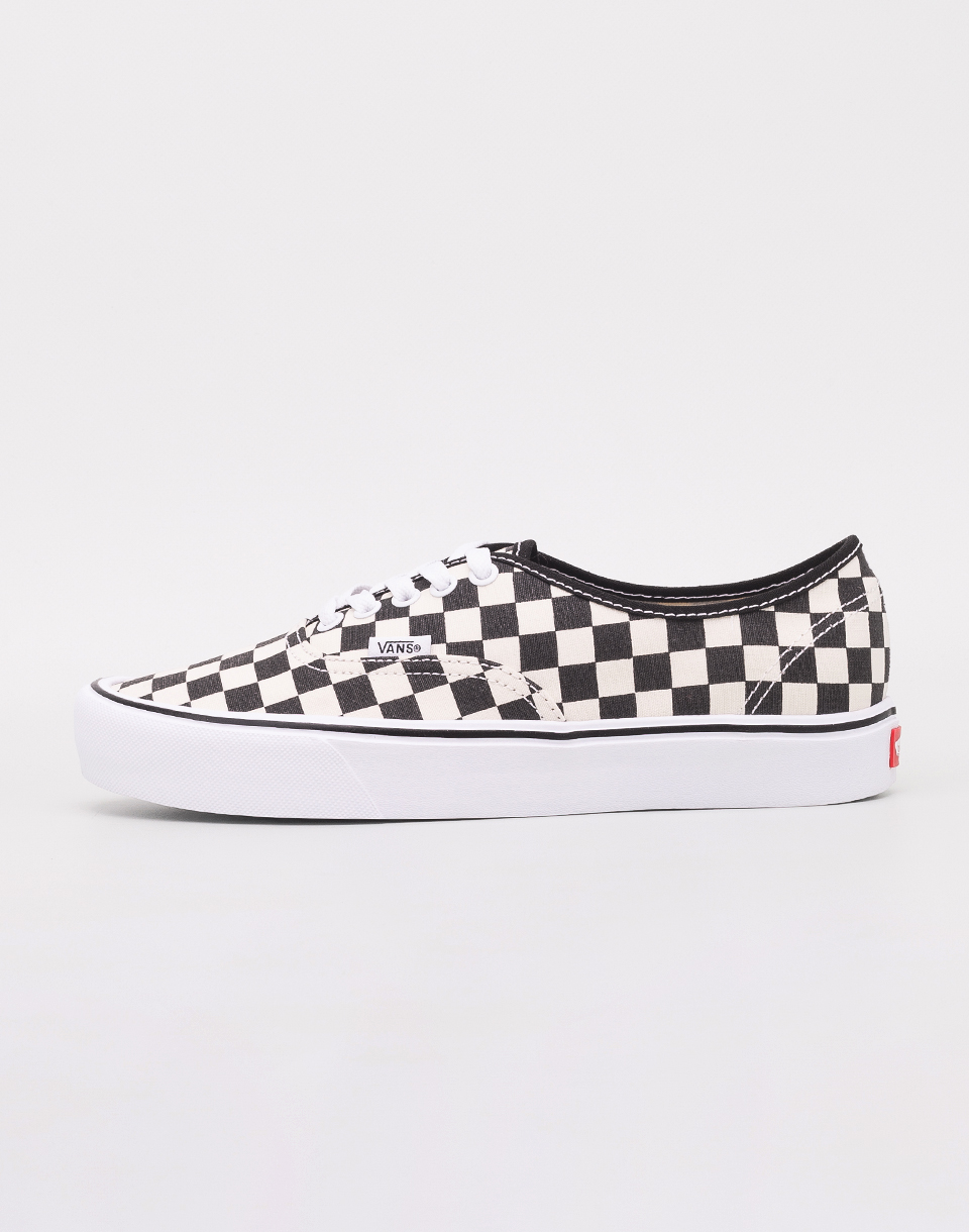 d01216a55c6 Vans Authentic Lite (Checkerboard) Black  White 46 ...