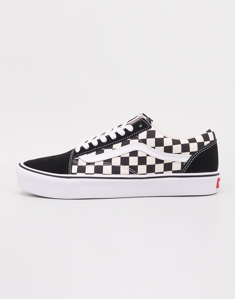 Vans Old Skool Lite (Checkerboard) Black/ White 36