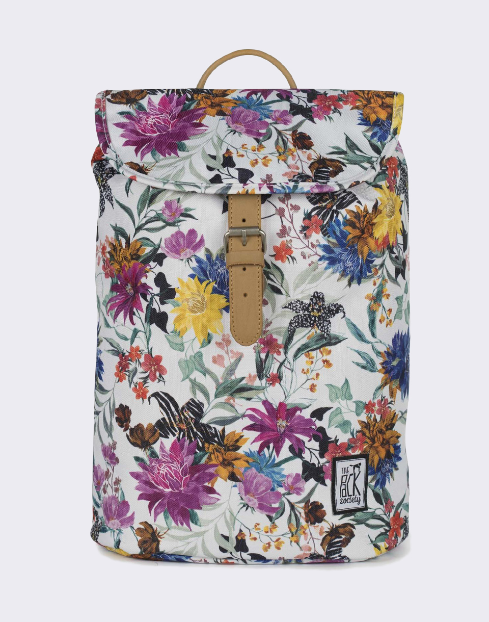 The Pack Society Small Multicolor Flower Allover