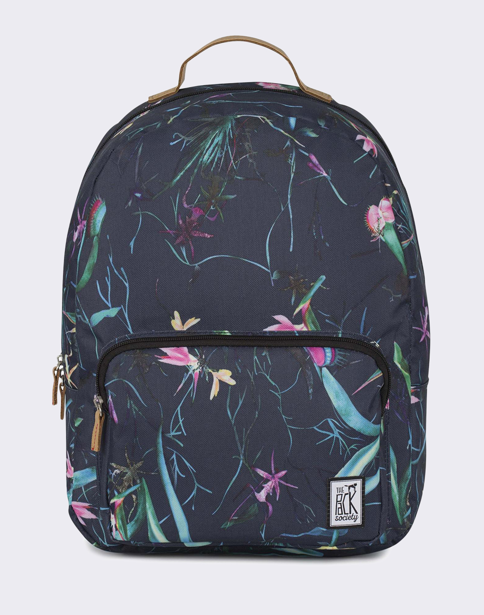 The Pack Society Classic Dark Blue Jungle Allover