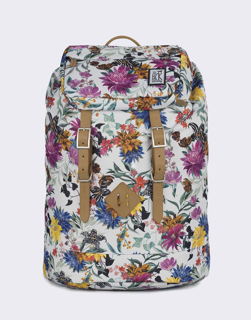 The Pack Society Premium Multicolor Flower Allover