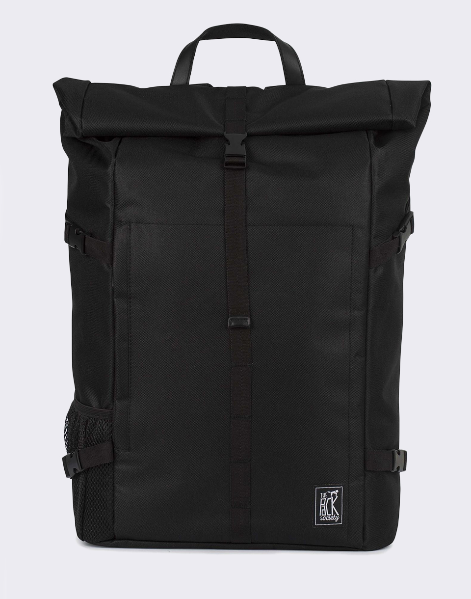 The Pack Society Daypack Solid Black