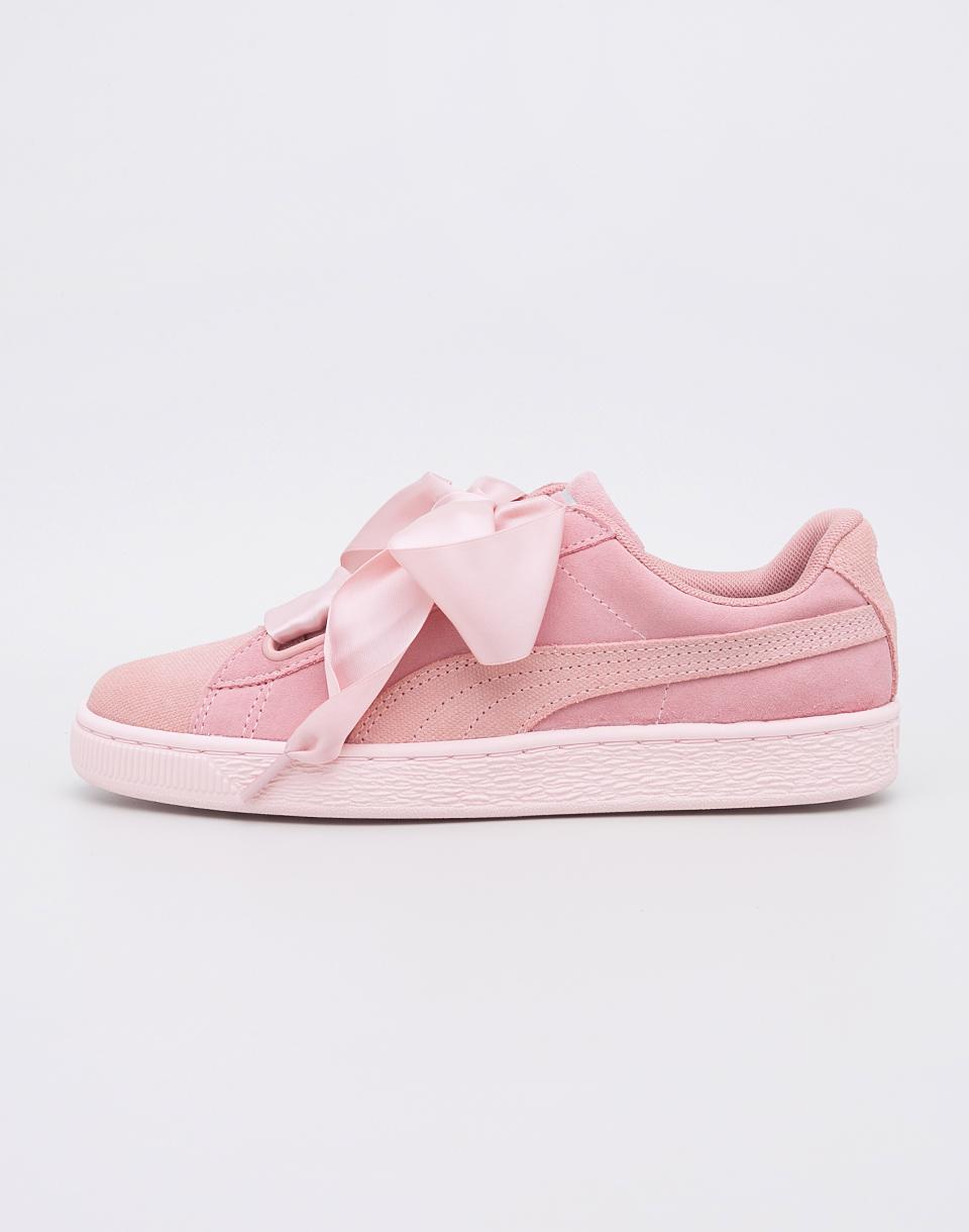 Sneakers - tenisky Puma Suede Heart Pebble Peach Beige-Pearl 37 + doprava zdarma