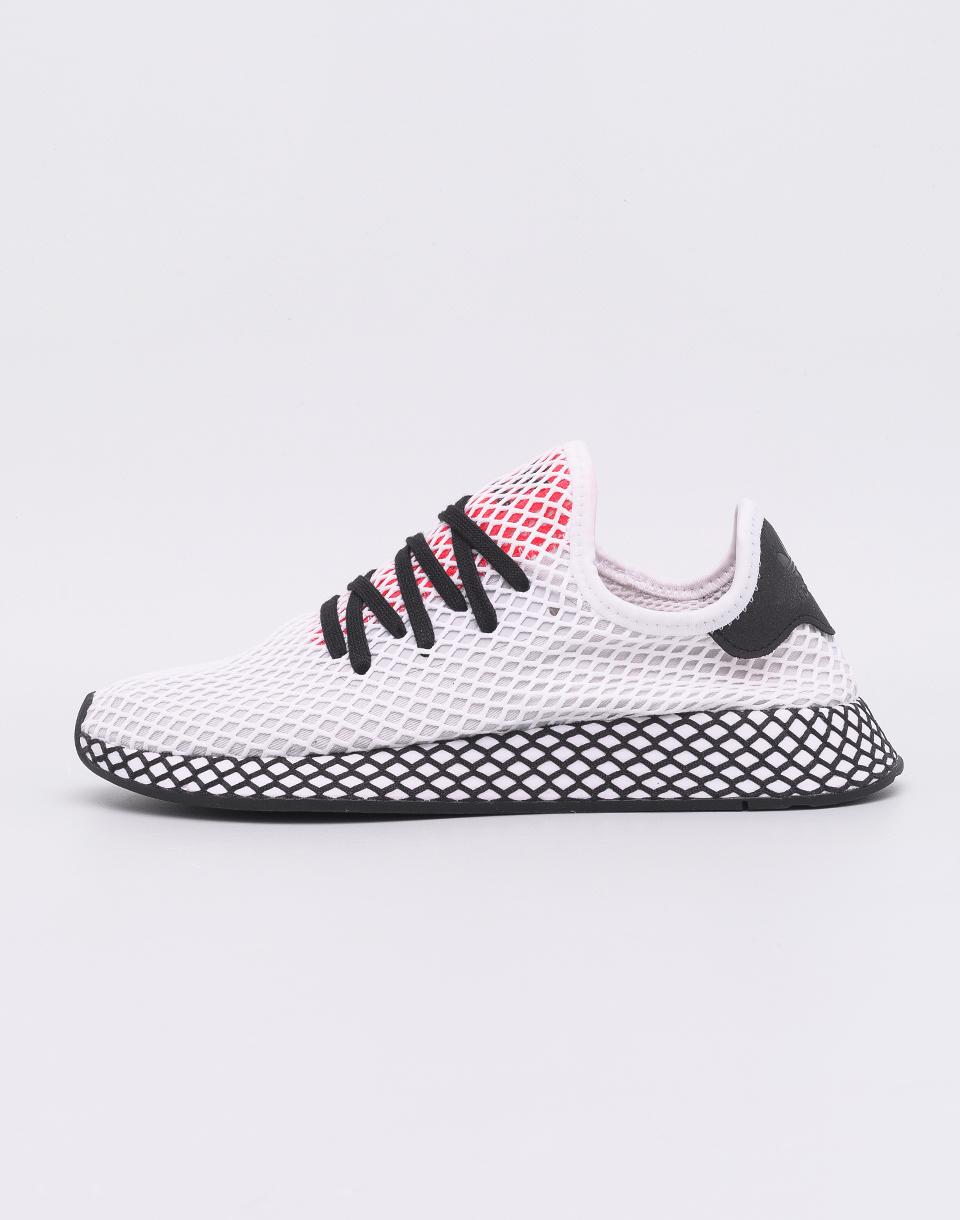 Adidas Originals Deerupt Runner White/ Core Black / Shock Red 41