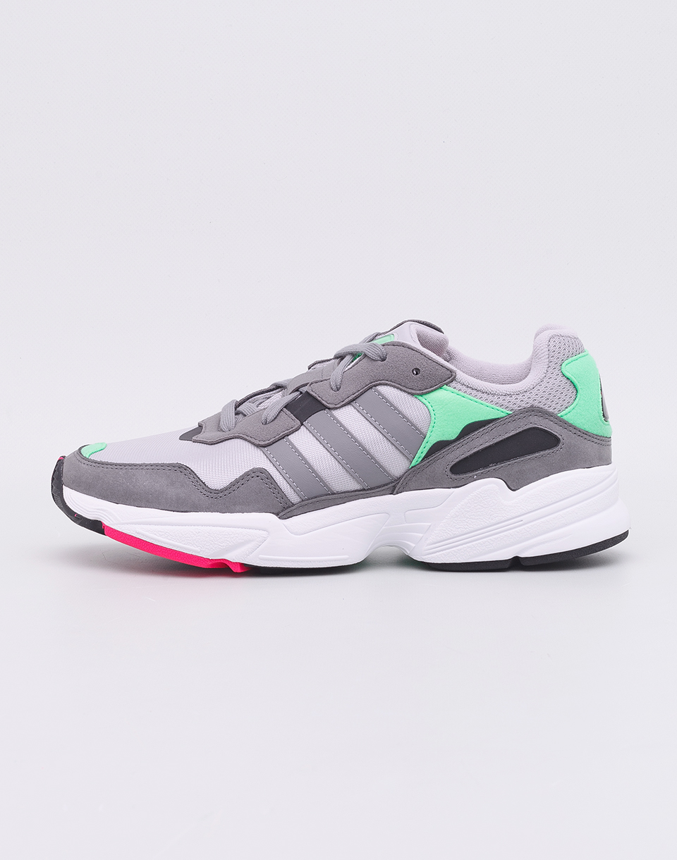 adidas Originals Yung 96 Grey Two  Grey Three  Shock Pink 42