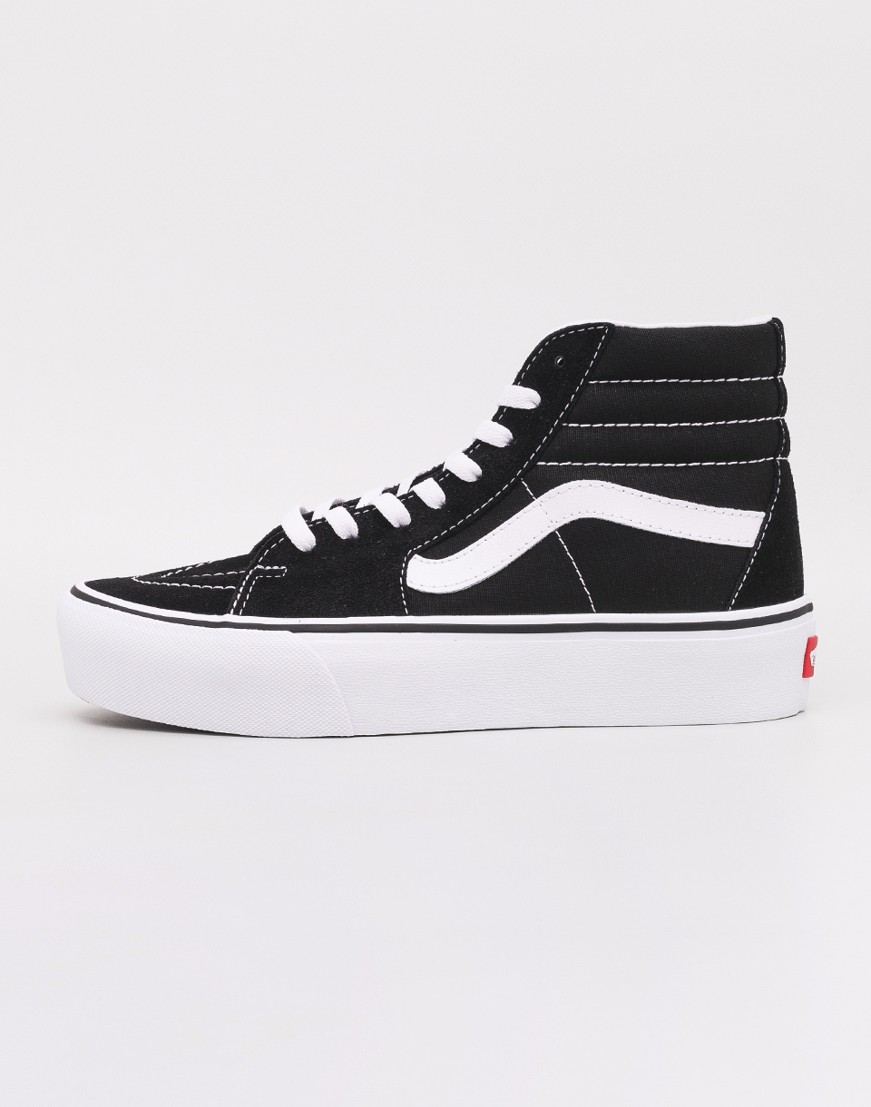 Vans Sk8 Hi Platform 2 0 Black  True White 36