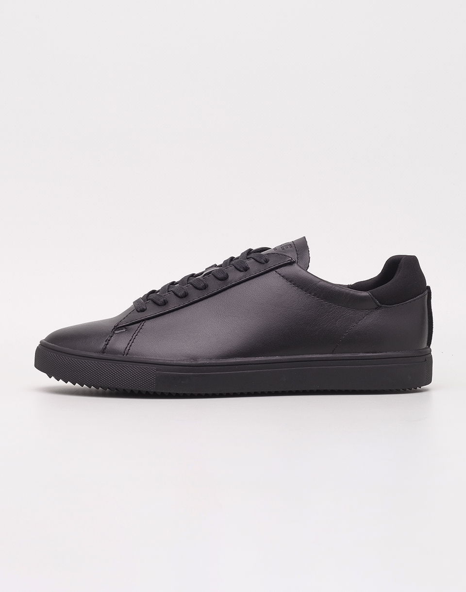 Clae Bradley Black Full Grain Leather 42