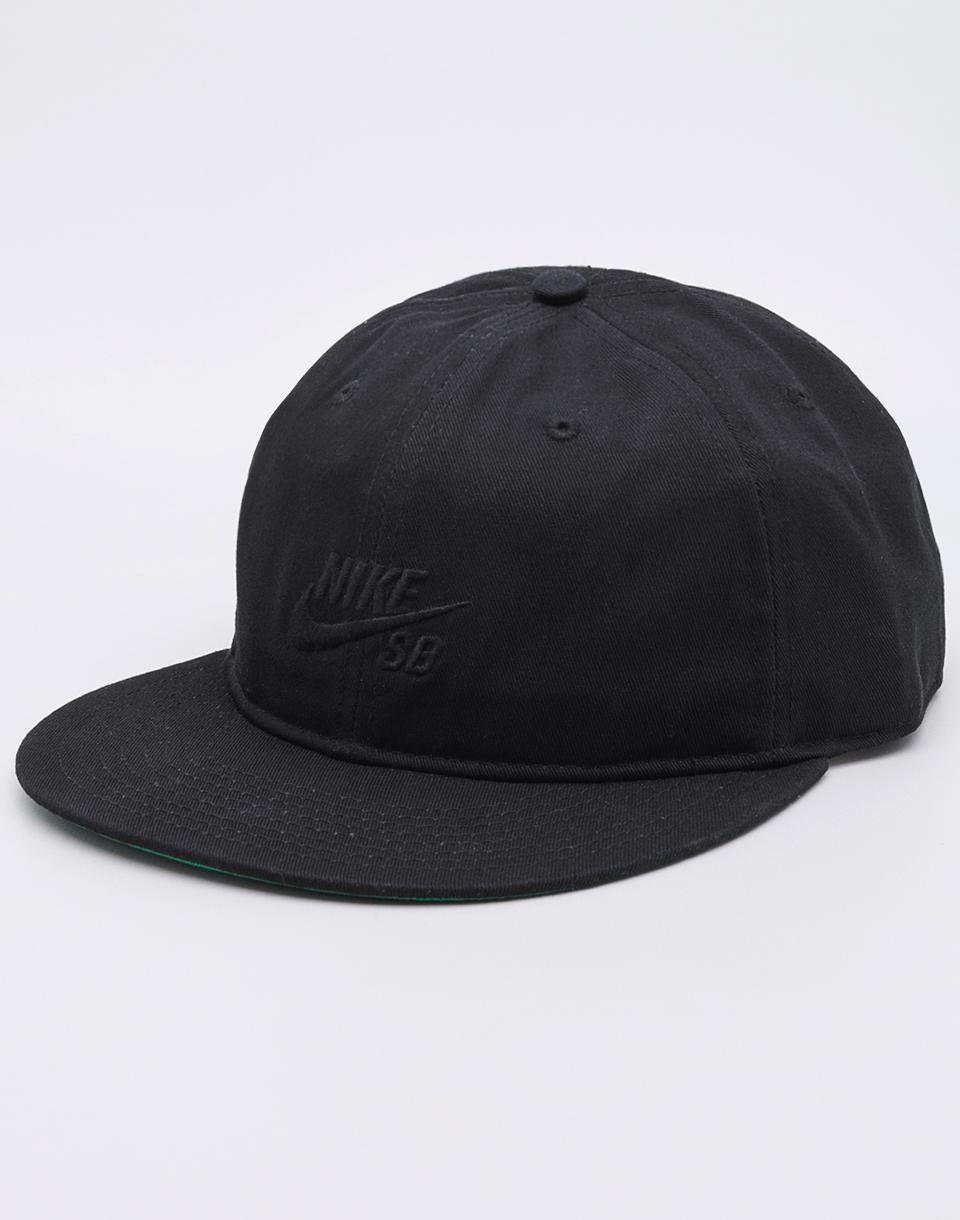 Kšiltovka Nike SB Pro Vintage Black / Pine Green / Black + novinka