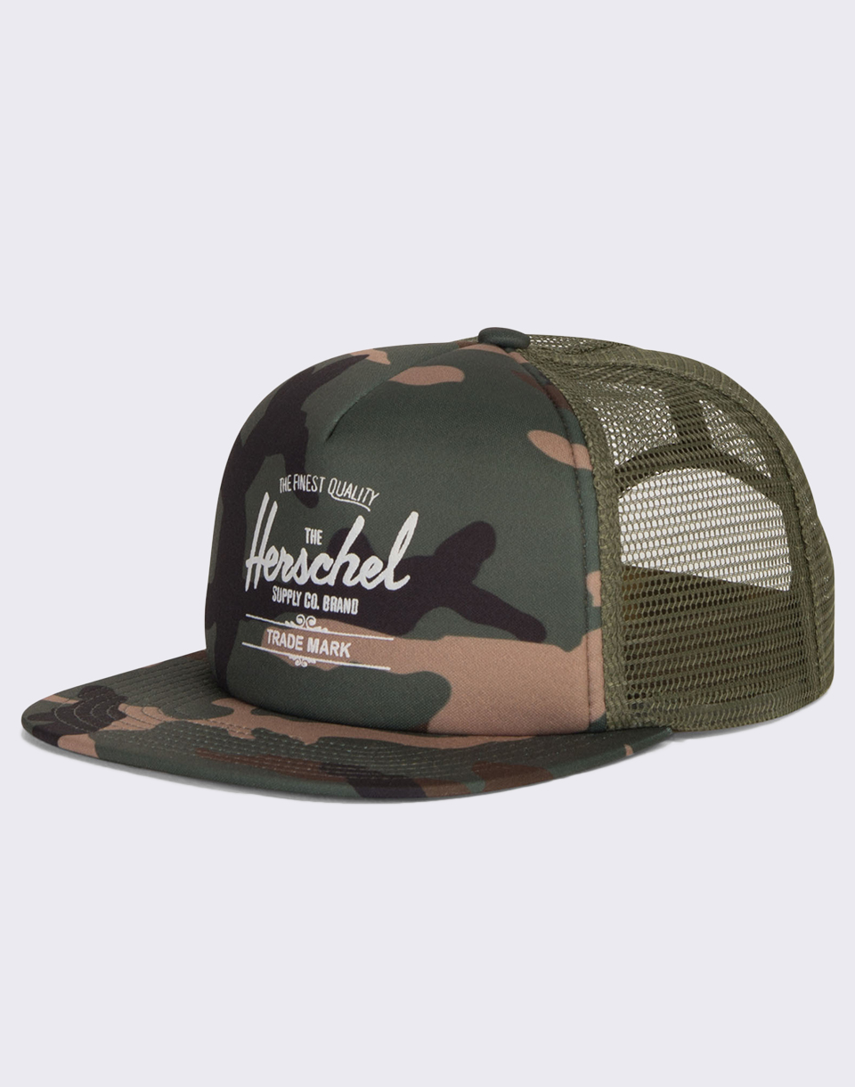 Herschel Supply Whaler Mesh Woodland Camo