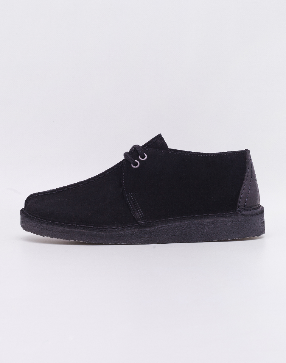 Clarks Originals Desert Trek Black Suede 42