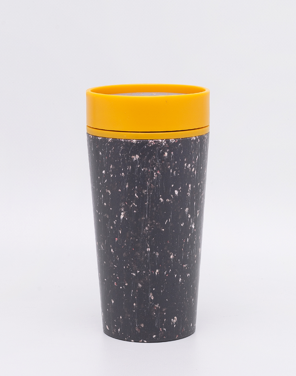 rCUP Kelímek 340 ml Black and Mustard