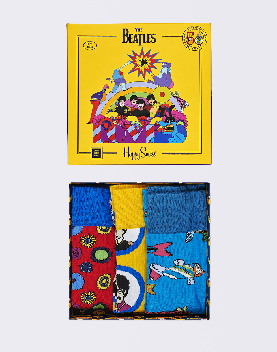 Happy Socks The Beatles Box Set XBEA08 2000 36 40