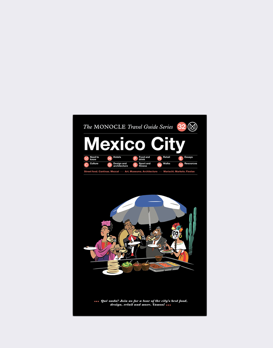 Gestalten Mexico City: The Monocle Travel Guide Series