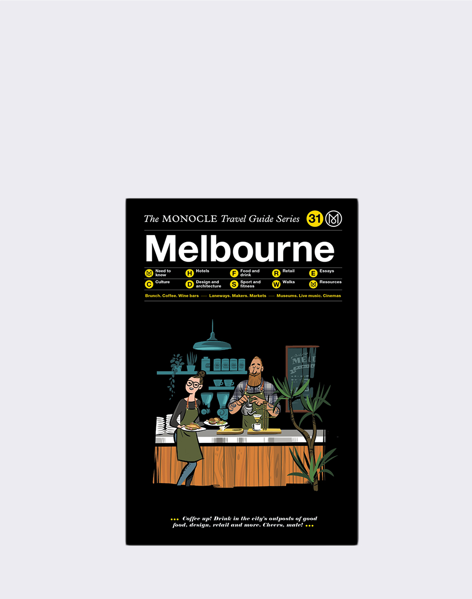 Gestalten Melbourne: The Monocle Travel Guide Series