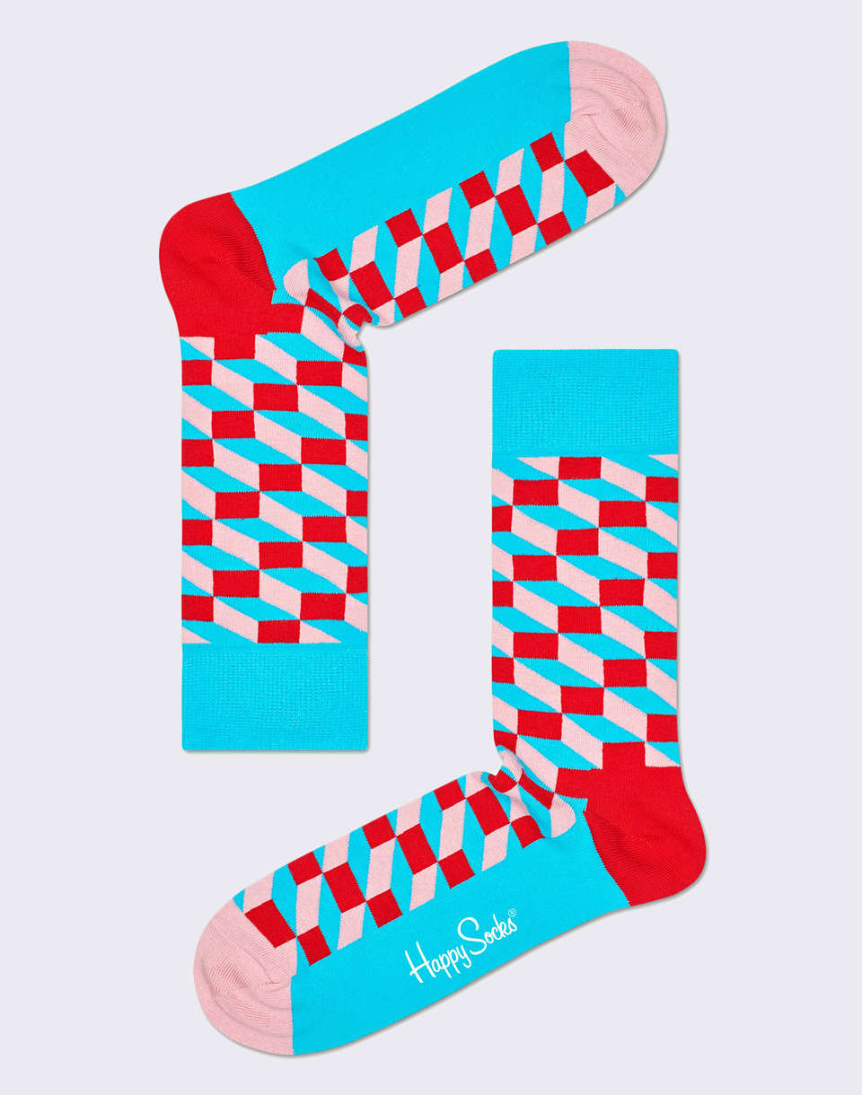 Happy Socks Filled Optic FIO01 6700 36 40