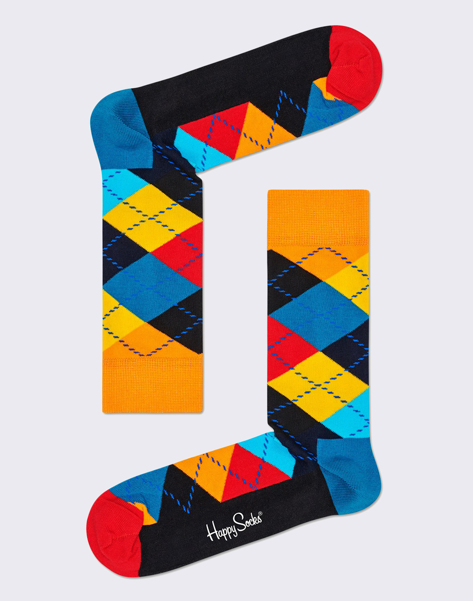 Happy Socks Argyle ARY01 0100 36 40