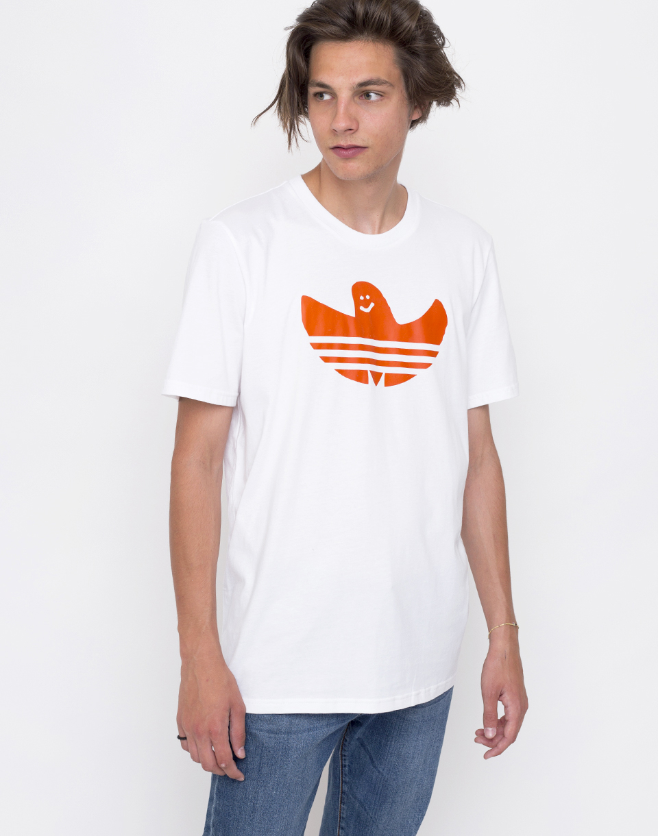 Adidas Originals Solid Shmoo White   Collegiate Orange S