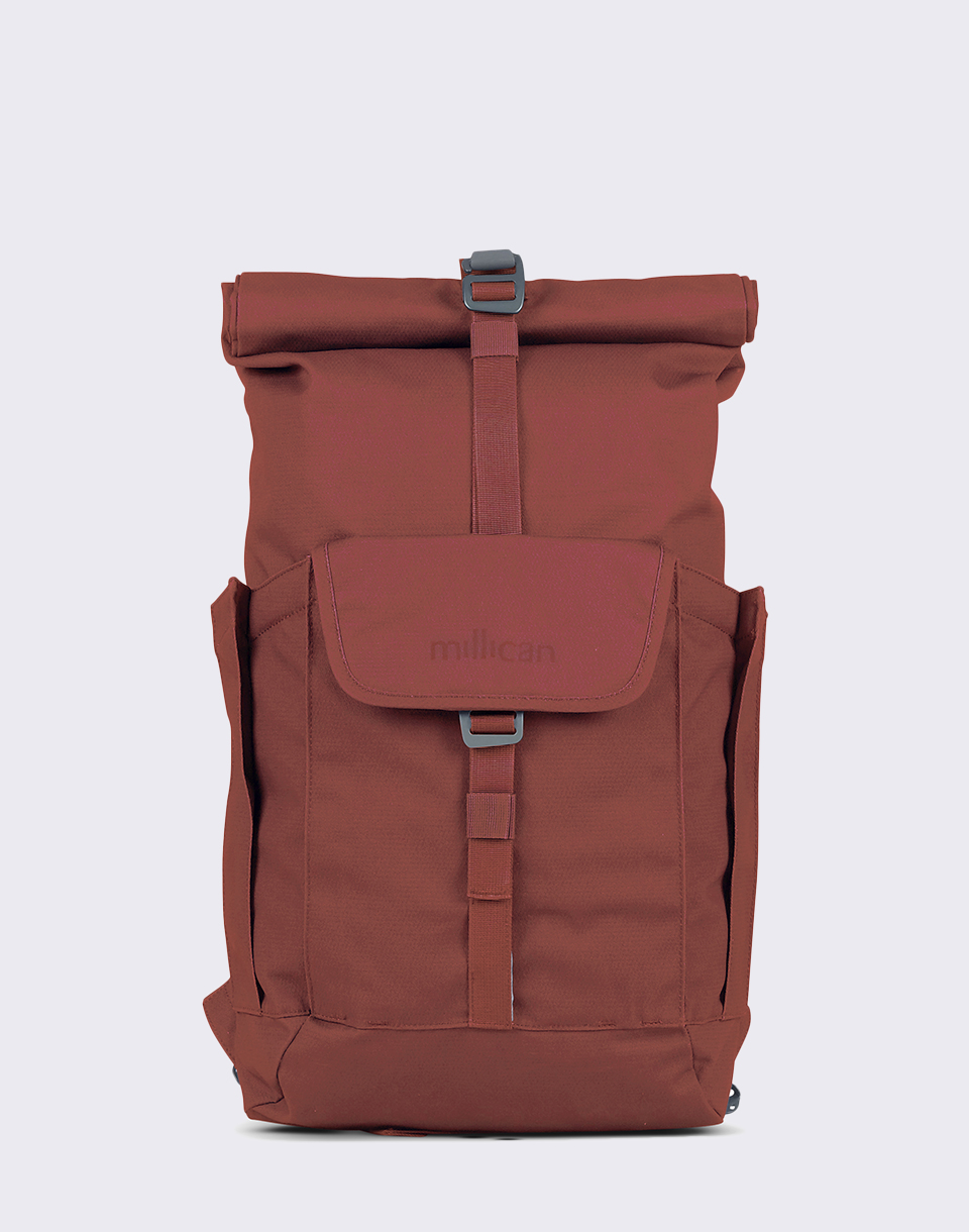 millican Smith Roll Pack 15 l With Pockets Rust