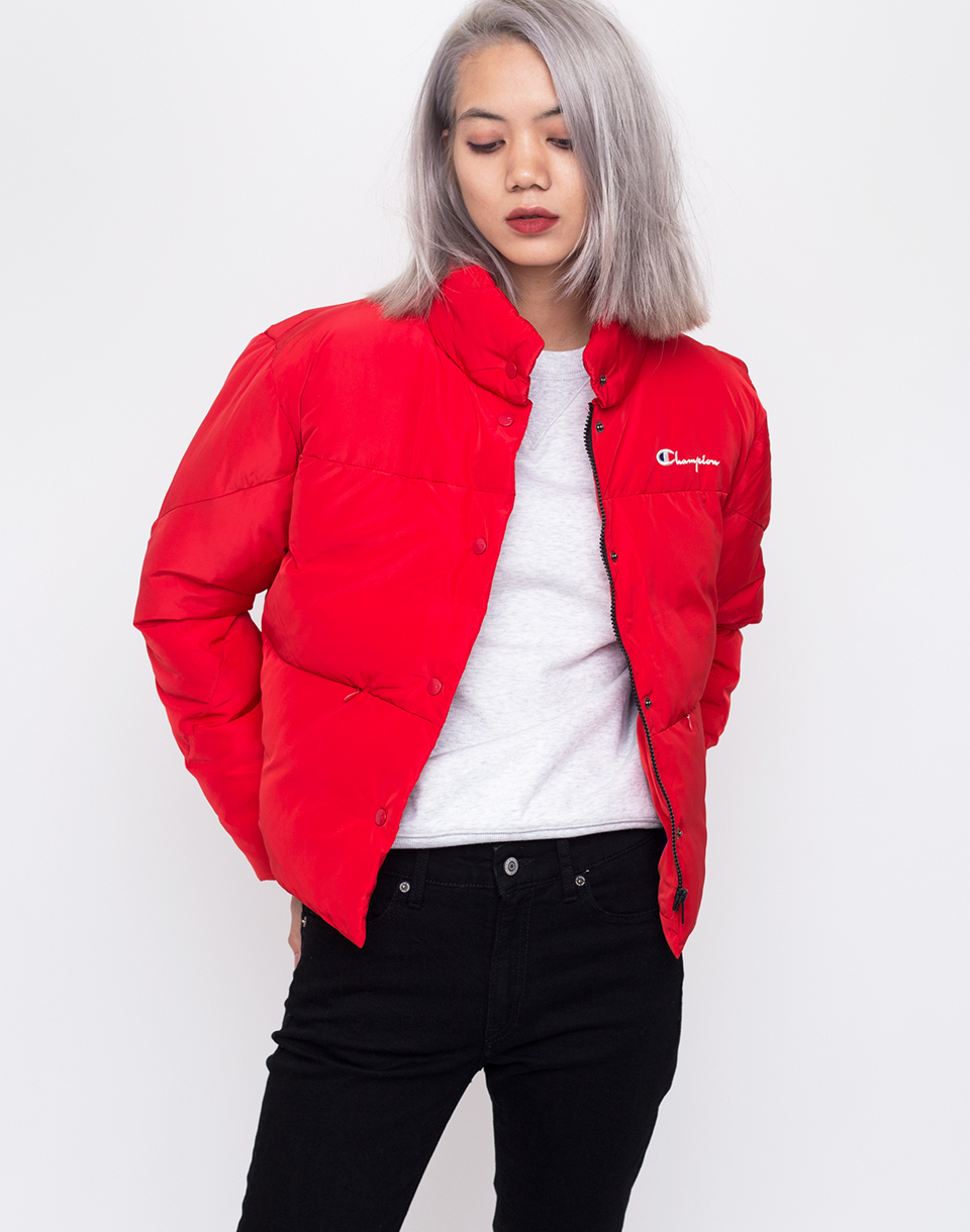 Champion Jacket Red M