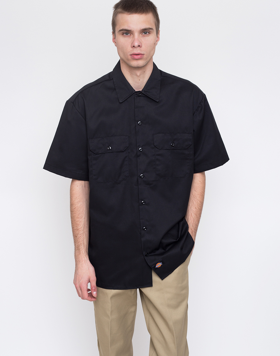 Dickies Work Shirt Black L