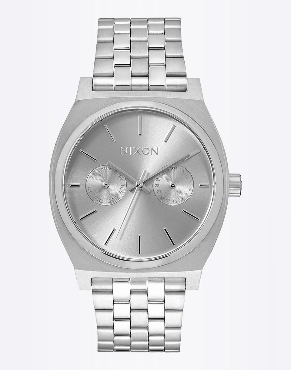 Hodinky Nixon Time Teller Deluxe All Silver + doprava zdarma + novinka