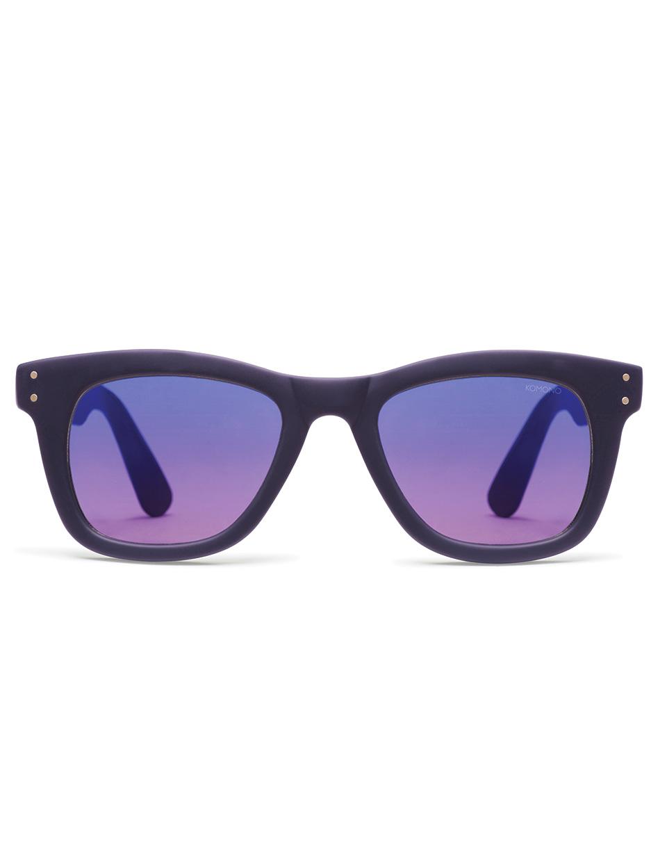 Sluneční brýle Komono Allen midnight blue rubber
