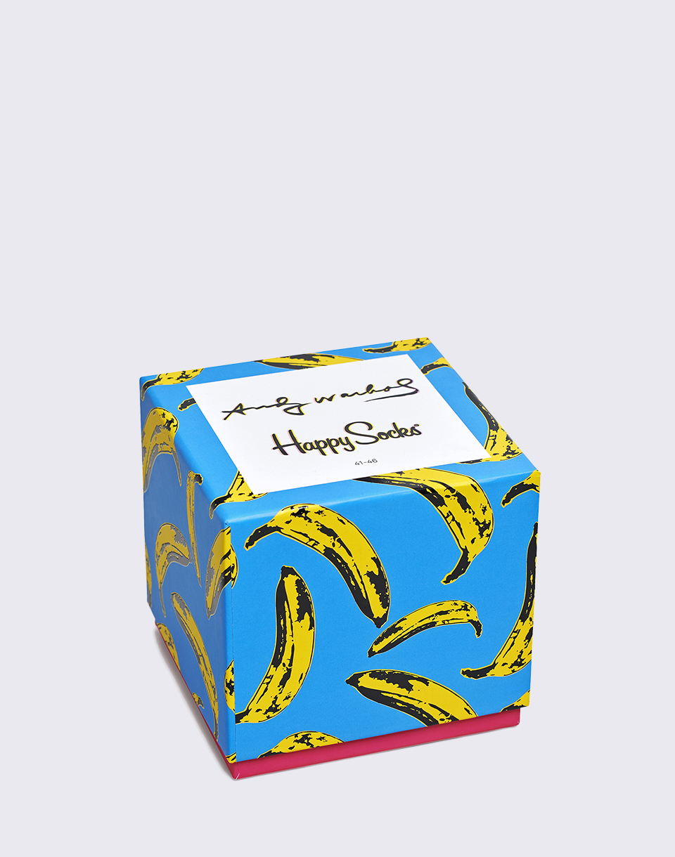 Happy Socks Andy Warhol Box Set XAWARH09 6000 36 40