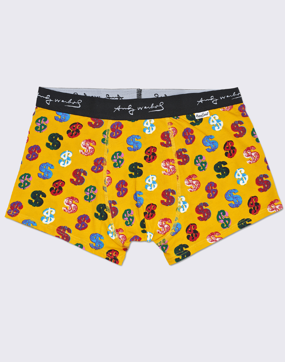 Happy Socks Andy Warhol Dollar Trunk AWDOL87 2000 M