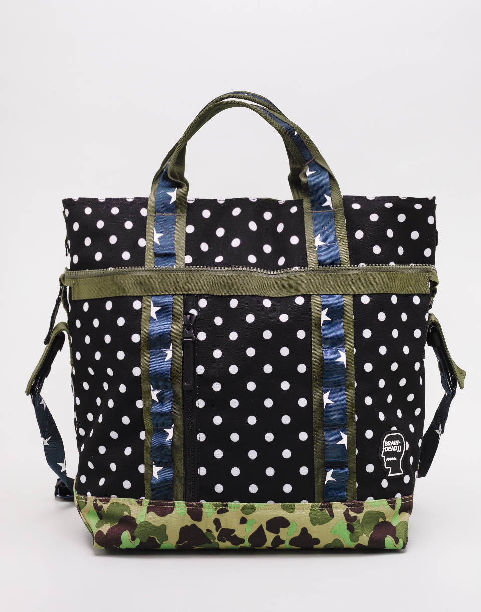 Converse Brain Dead Convertible Duffel Black  Warm Grey  Field Surplus