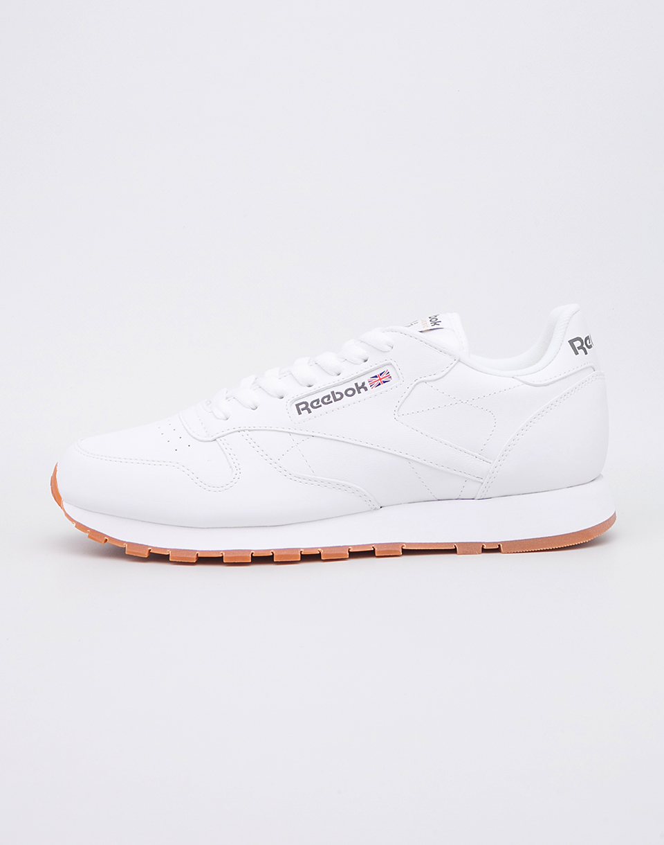 Reebok Classic Leather White  Gum 42
