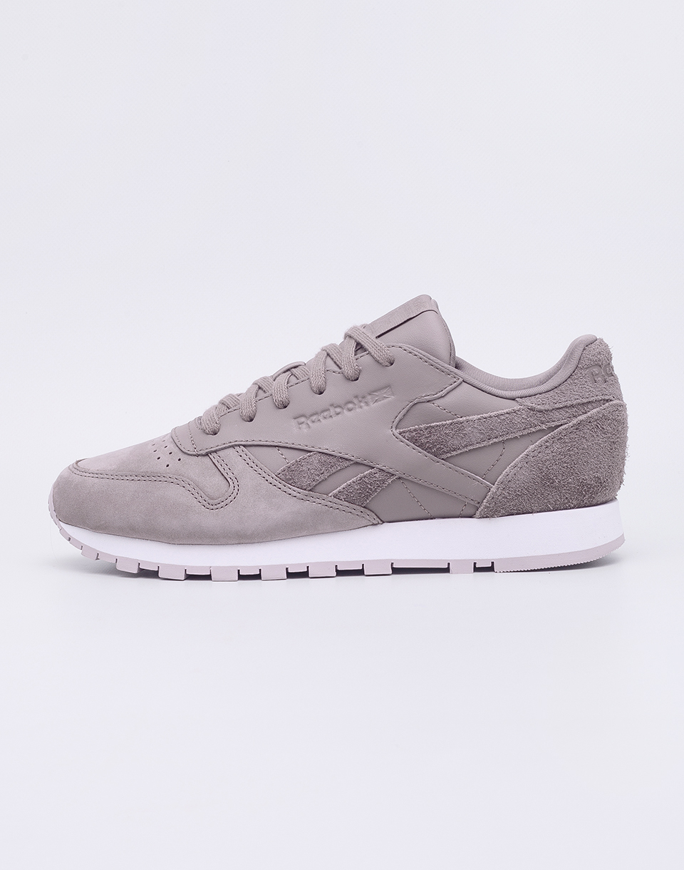 Reebok Classic Leather Sandy Taupe   Lavender 38